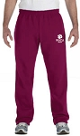 Gildan Heavy Blend Open Bottom Sweatpants - ATHLETIC