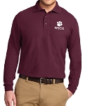 Port Authority Silk Touch Long Sleeve Polo - DRESS CODE