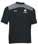 UA Triumph Cage Jacket-Short Sleeve - ATHLETIC
