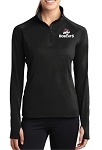 Sport-Tek Ladies Sport-Wick Stretch 1/2-Zip Pullover
